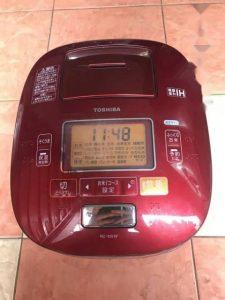 Nồi cơm điện TOSHIBA chuông nội địa nhật RC-10VXH 1lit hút chân không